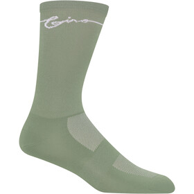 Giro Comp High Rise Socken Grey Green